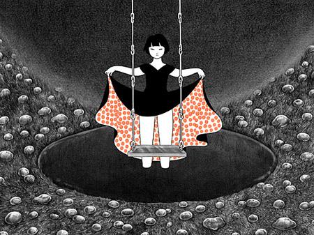 "Akino Kondoh, ""Ladybirds' Requiem,"" 2005-6. Courtesy the Artist and Mizuma Art Gallery, Tokyo."