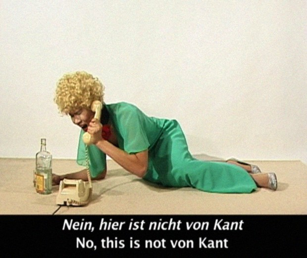 Ming Wong, image from Learn German with Petra von Kant / Lerne Deutsch Mit Petra von Kant (2007). Courtesy of the artist.