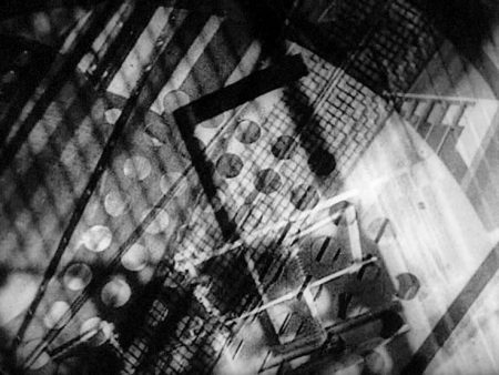 Still from Lightplay: Black, White, Gray (László Moholy-Nagy, 1930).