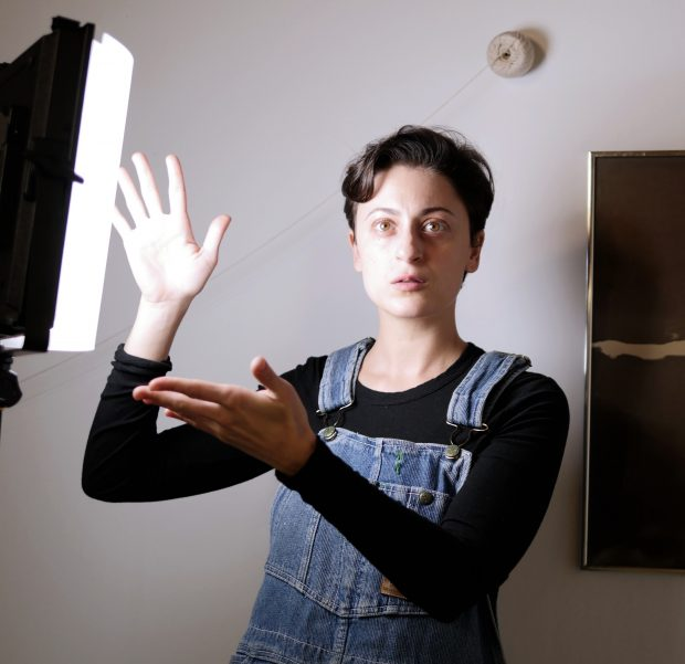 Sara Magenheimer. Image courtesy of Video Data Bank.
