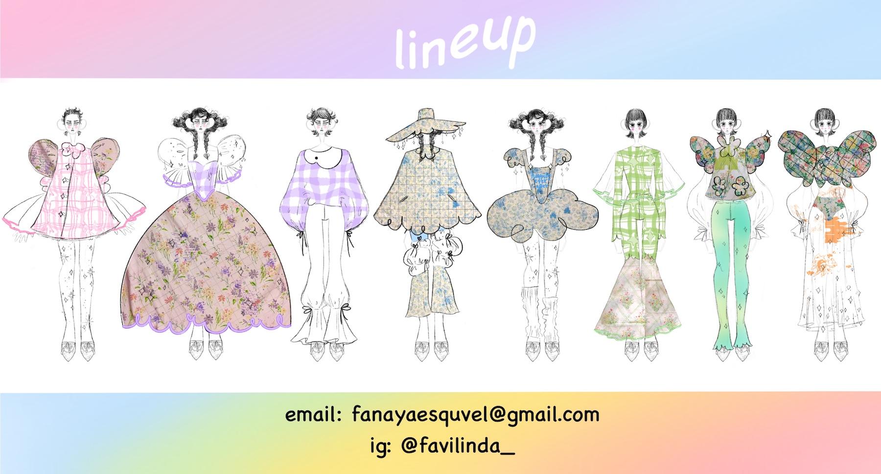 Faviola Anaya Esquivel - Lineup Illustrations