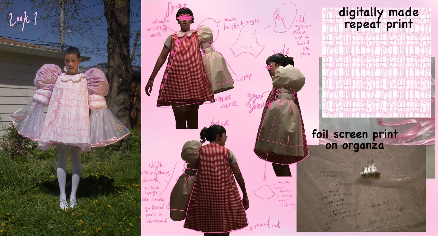 Faviola Anaya Esquivel - Bubblegum Shortcake Dress