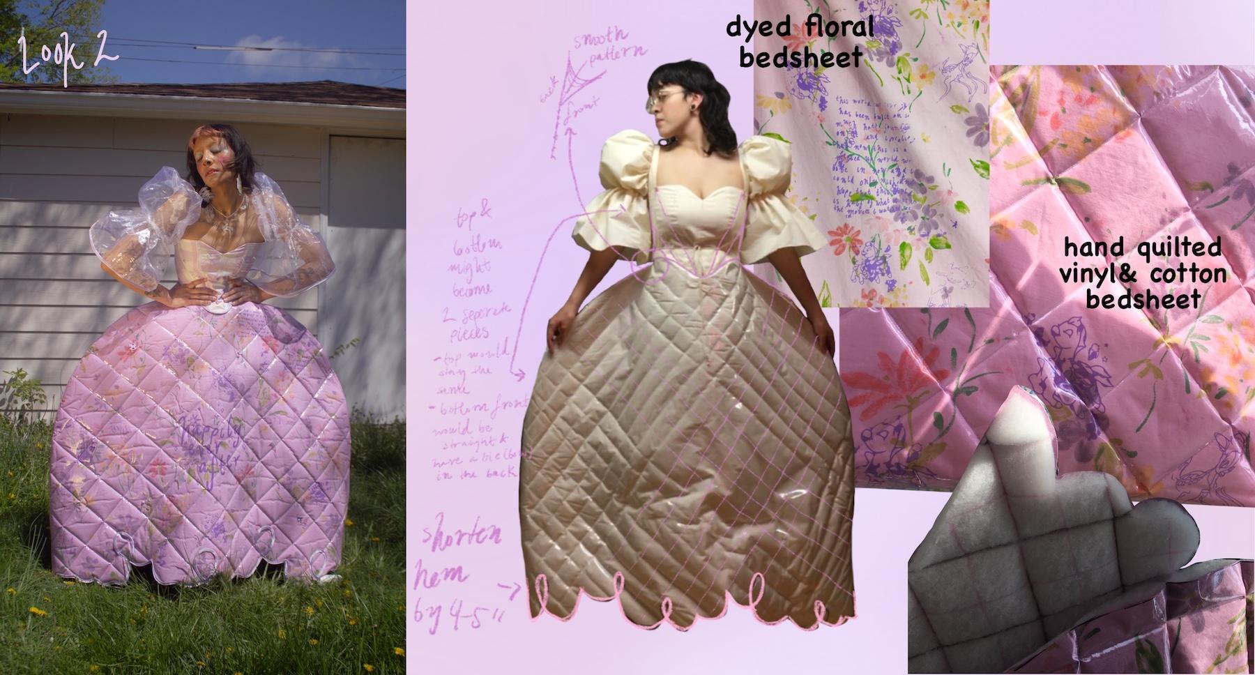 Faviola Anaya Esquivel - Cinderella Corset Top& Skirt