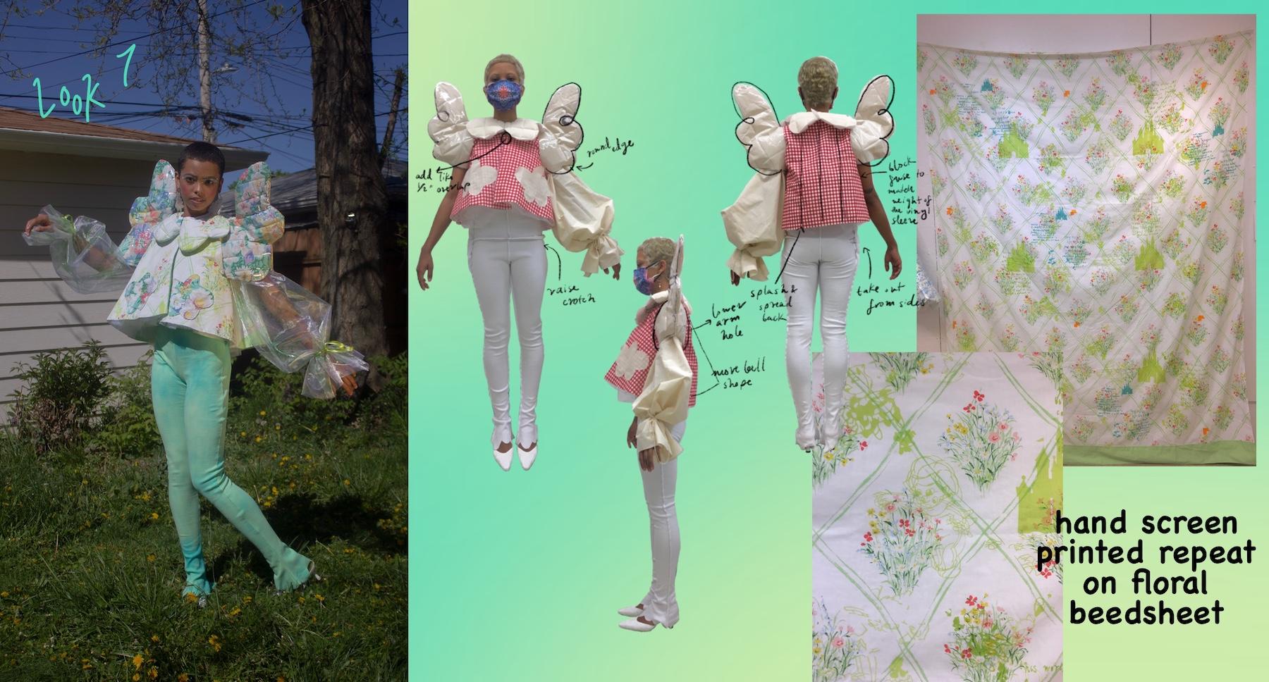 Faviola Anaya Esquivel - Peter Pan Mini Jacket& Leggings