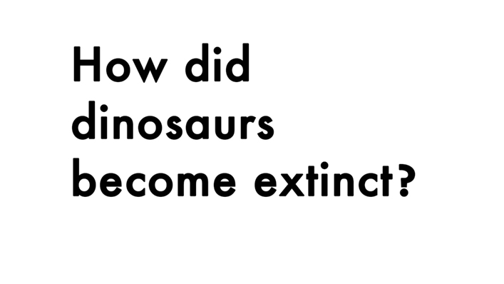 Hongjia Lin - How did dinosaurs become extinct?