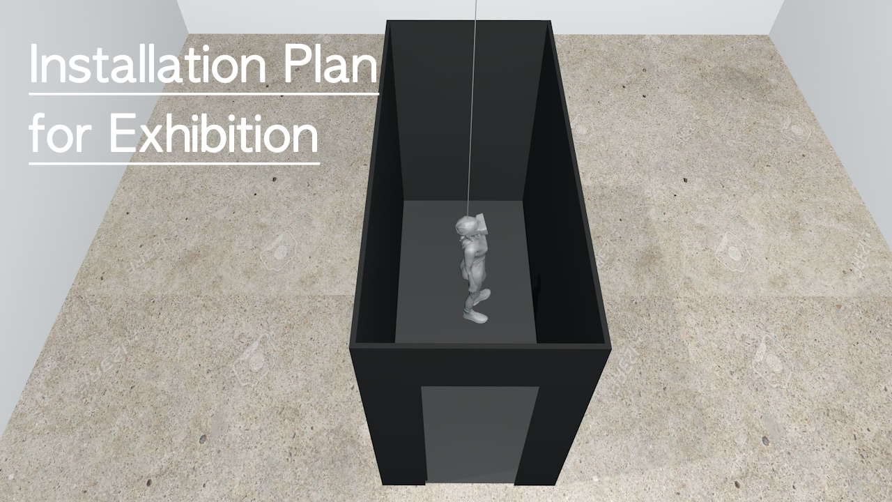 KyungMook Kim - Installation Plan for Exhibition