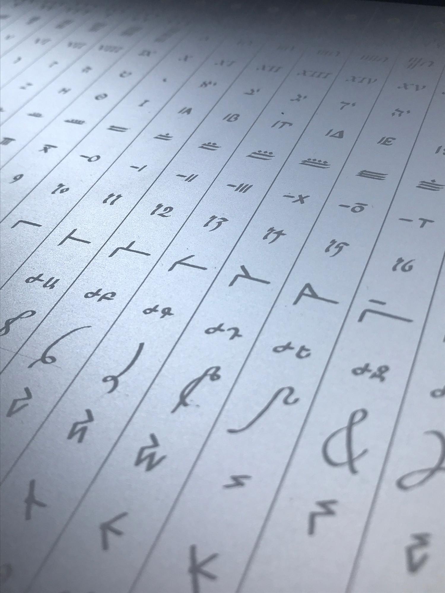Lenny Moore - Numerical Rosetta Stone