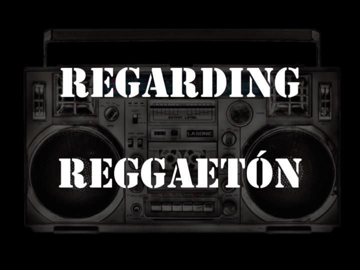 Luis López - Regarding Reggaetón