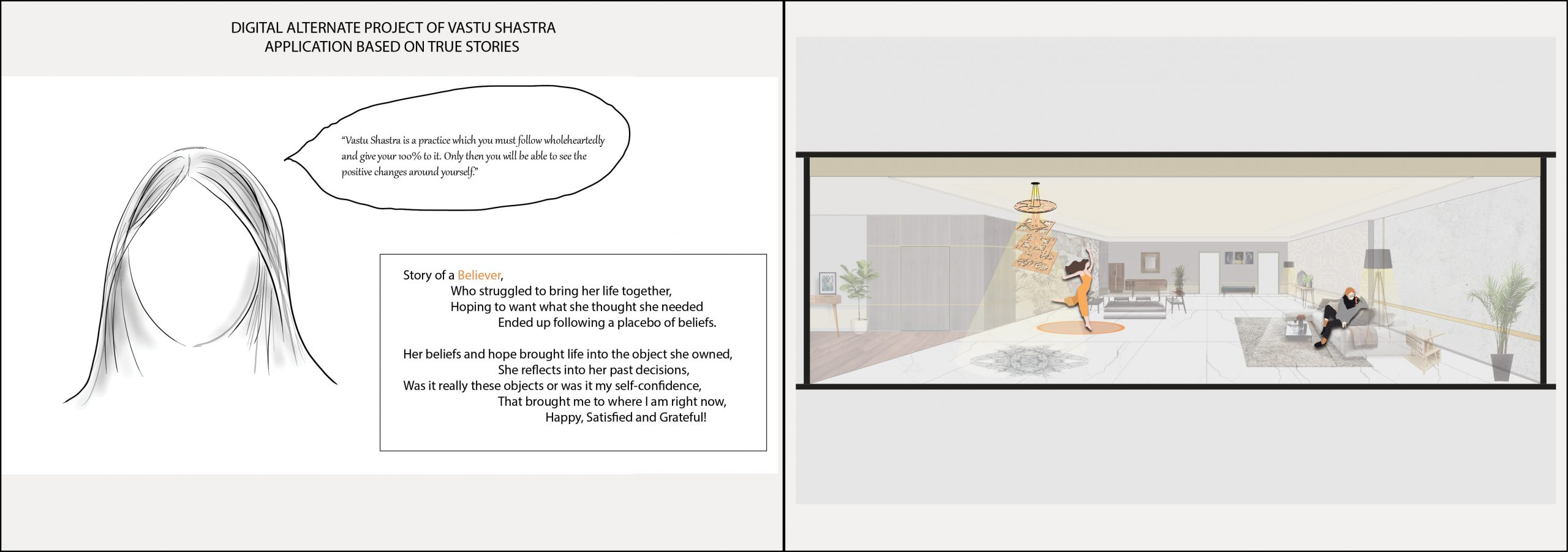 Krina Shailesh Mehta - Digital Drawing Vastu Shastra Implementation