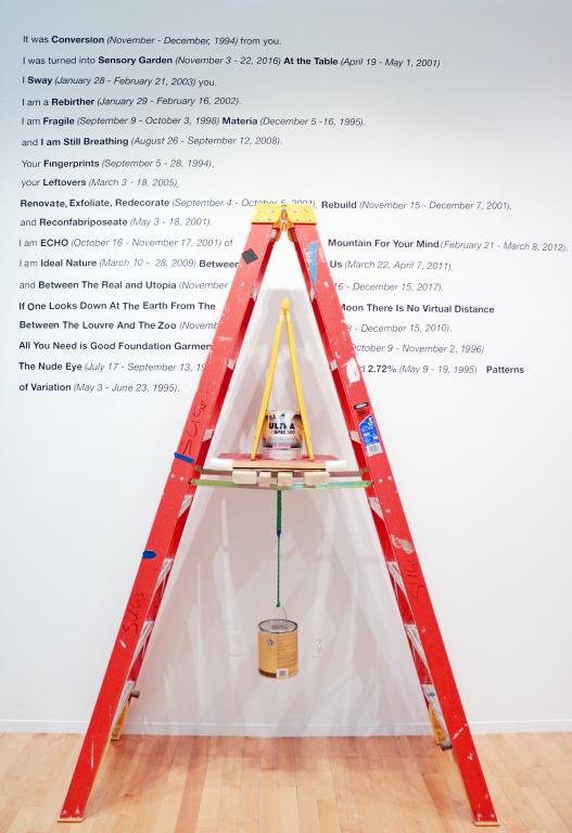 Chris Han - Ladder and poem