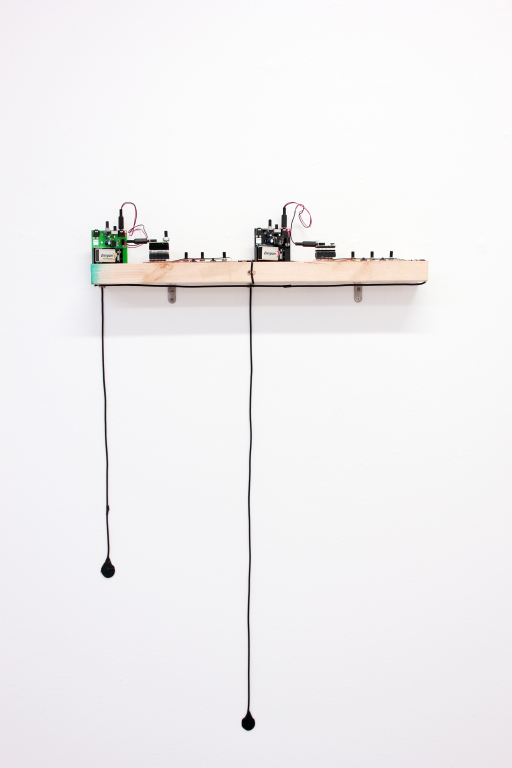 Chris Han - Shelves and instrument