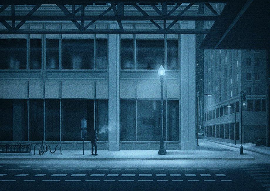 Huixin Xian - La Suite Bleue_Distance