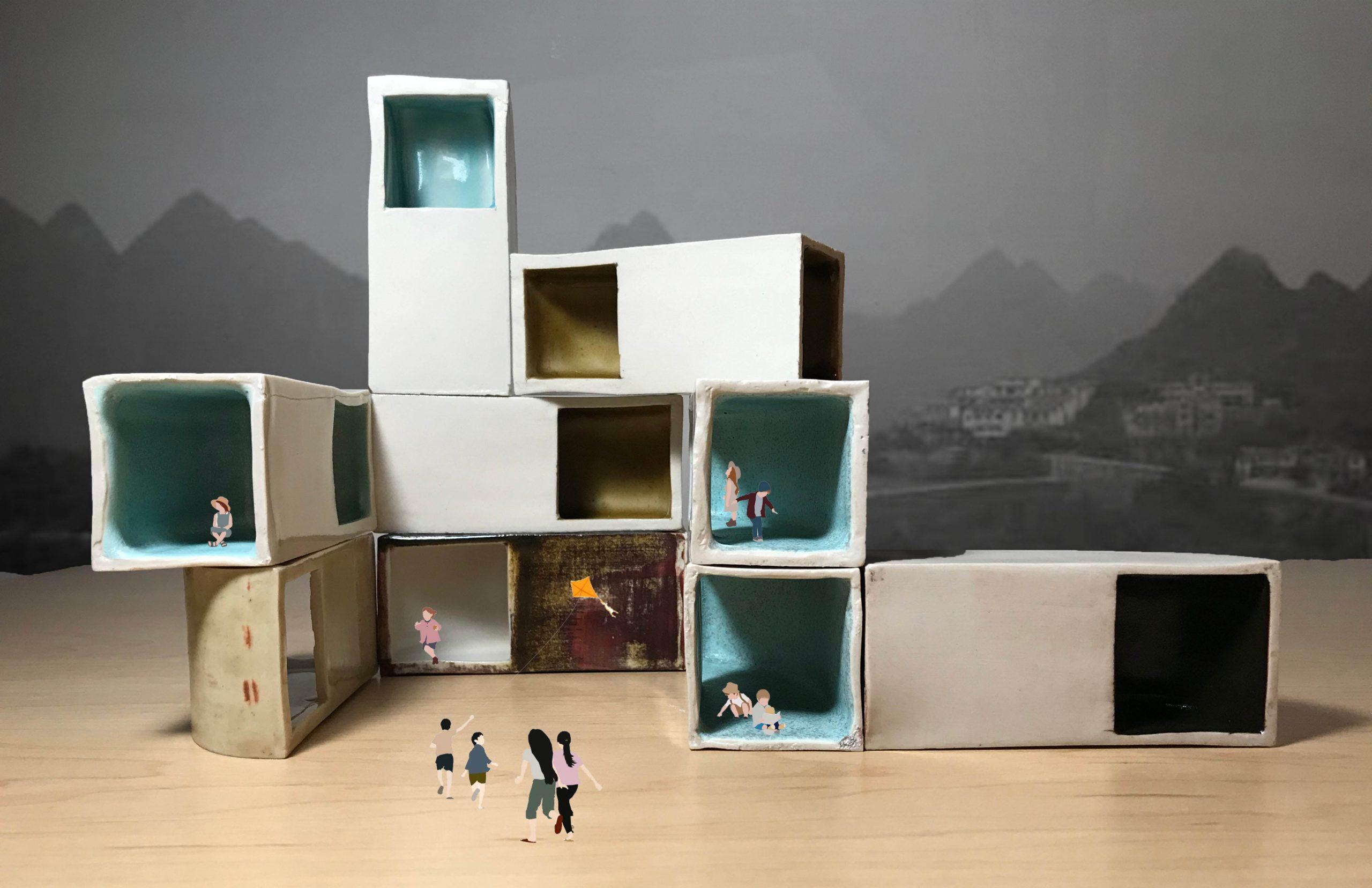 Dian Li - Ceramic modular model