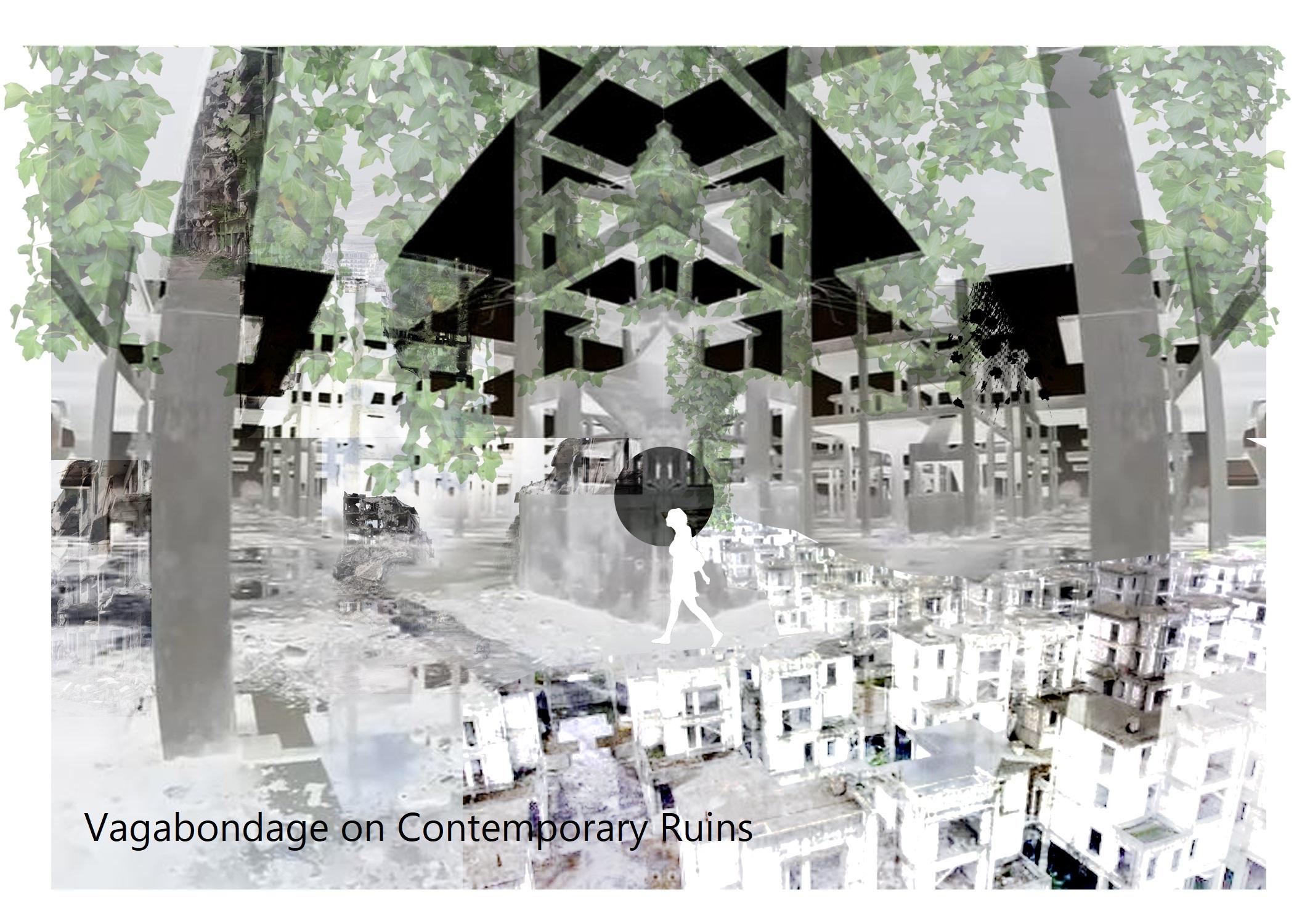 Yiwen Chu - Conceptual Ruin Collage