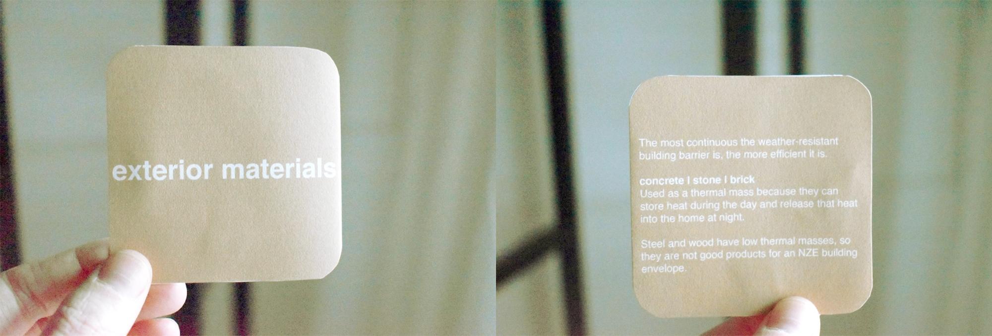 Addison Foran - Exterior Materials