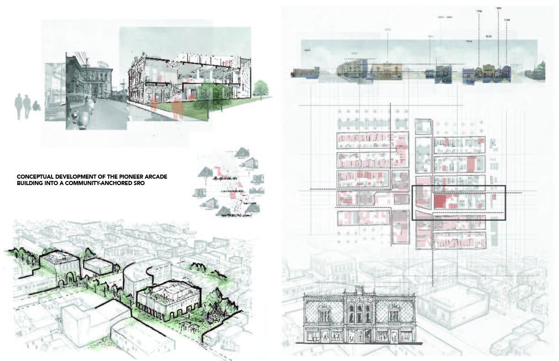 Amanda Fuson - Conceptual Development of the Pioneer Arcade into a Community-Anchored SRO