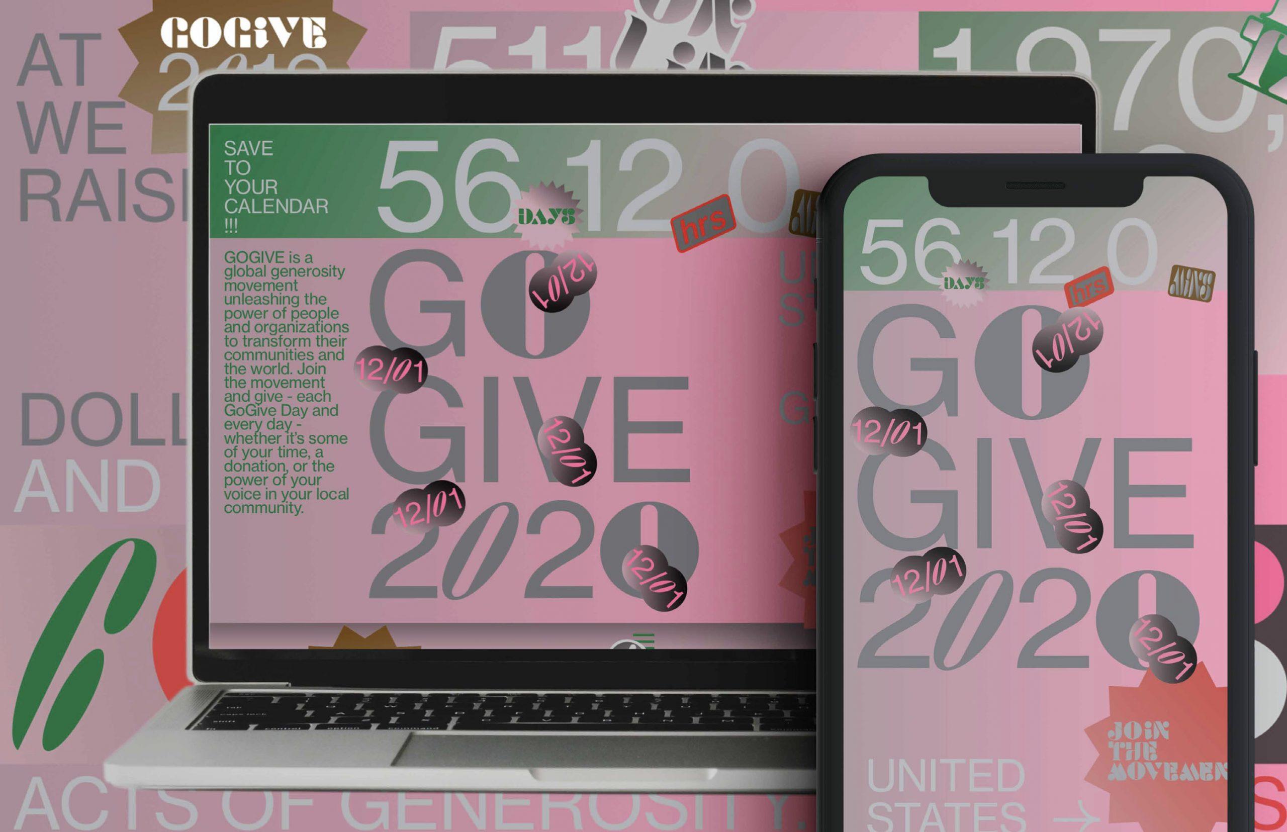 Eager Zhang - GoGive2020 UI Design