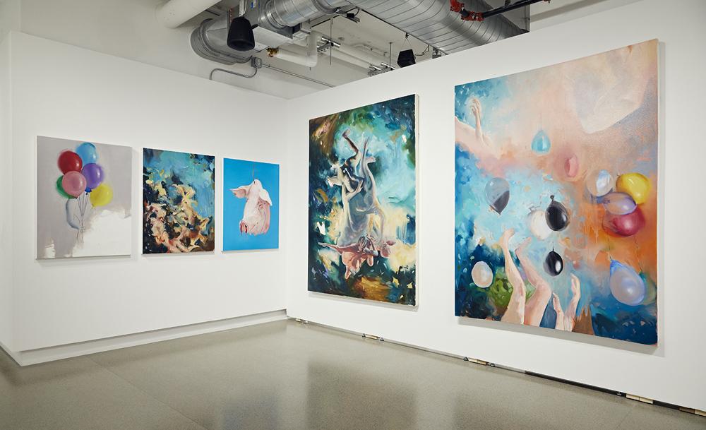 Graduate Exhibition - Paintings by Bassim Al Shaker
