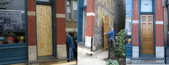 2b.apartment door restoration