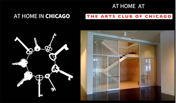RBSC staff participated in a series of lectures and tours of  At Home in Chicago members at The Arts Club of Chicago.