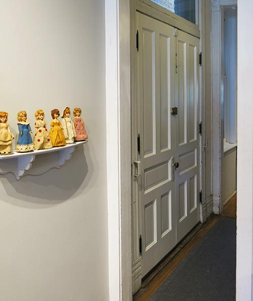 Interior hall doors, fully restored by Restoric, LLC